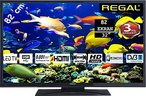 REGAL 32 R 4020 Dahili Uydulu LED TV