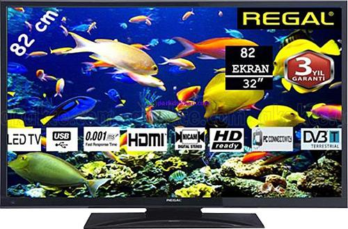 REGAL 32 R 4020 Dahili Uydulu LED TV