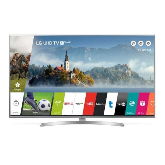 "LG 65UK6950 65"" 166 CM 4K UHD SMART TV,DAHİLİ UYDU ALICI"