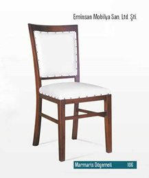 Marmaris kollu sandalye