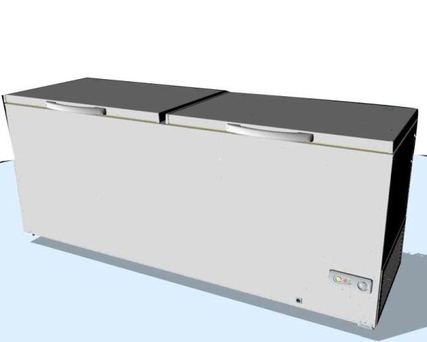 Şenocak 2 Kapaklı Derin Dondurucu D 612 DF STD