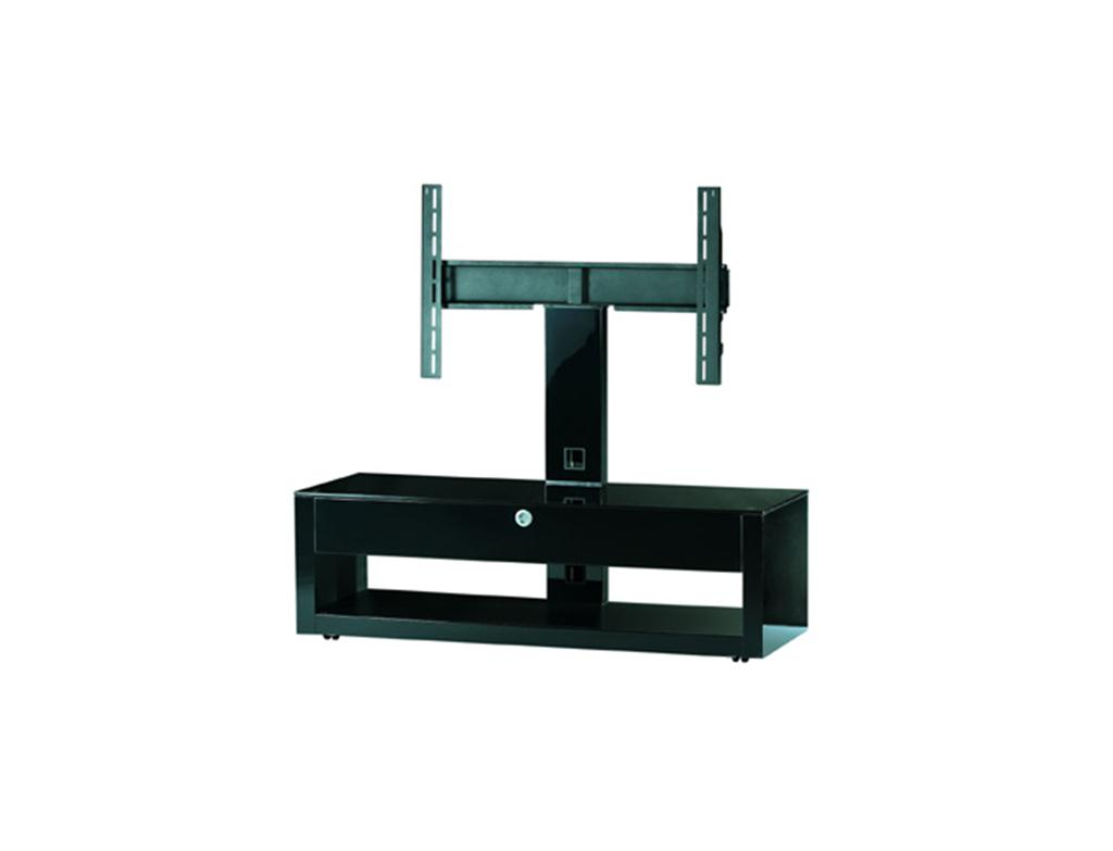 SONOROUS VALUE 1200 B BLACK STRAPS LED TV STAND