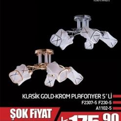 KLASIK KROM GOLD AVIZE